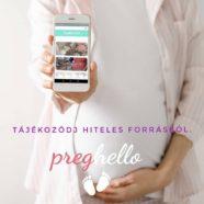 Németh Nóra – PregHello – a magyar várandós mobil applikáció
